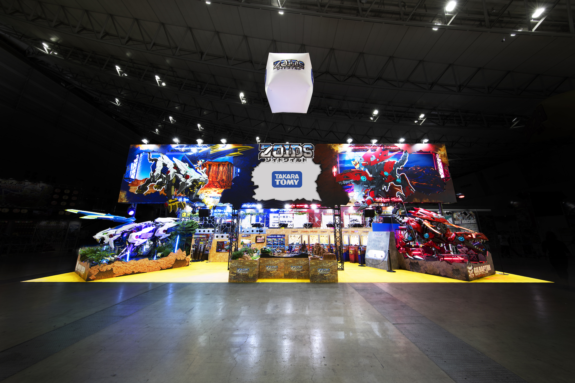 Next Generation World Hobby Fair '18 Summer / TAKARA TOMY ZOIDS Booth