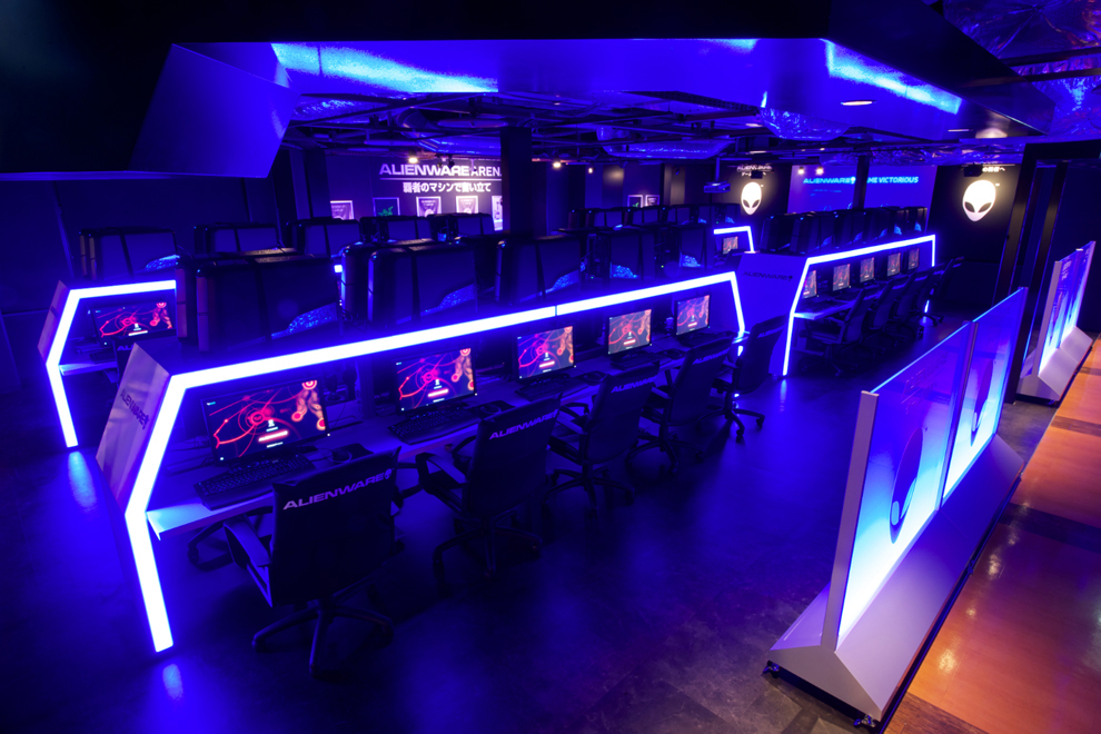 ALIENWARE ARENA in アイ・カフェ AKIBA PLACE