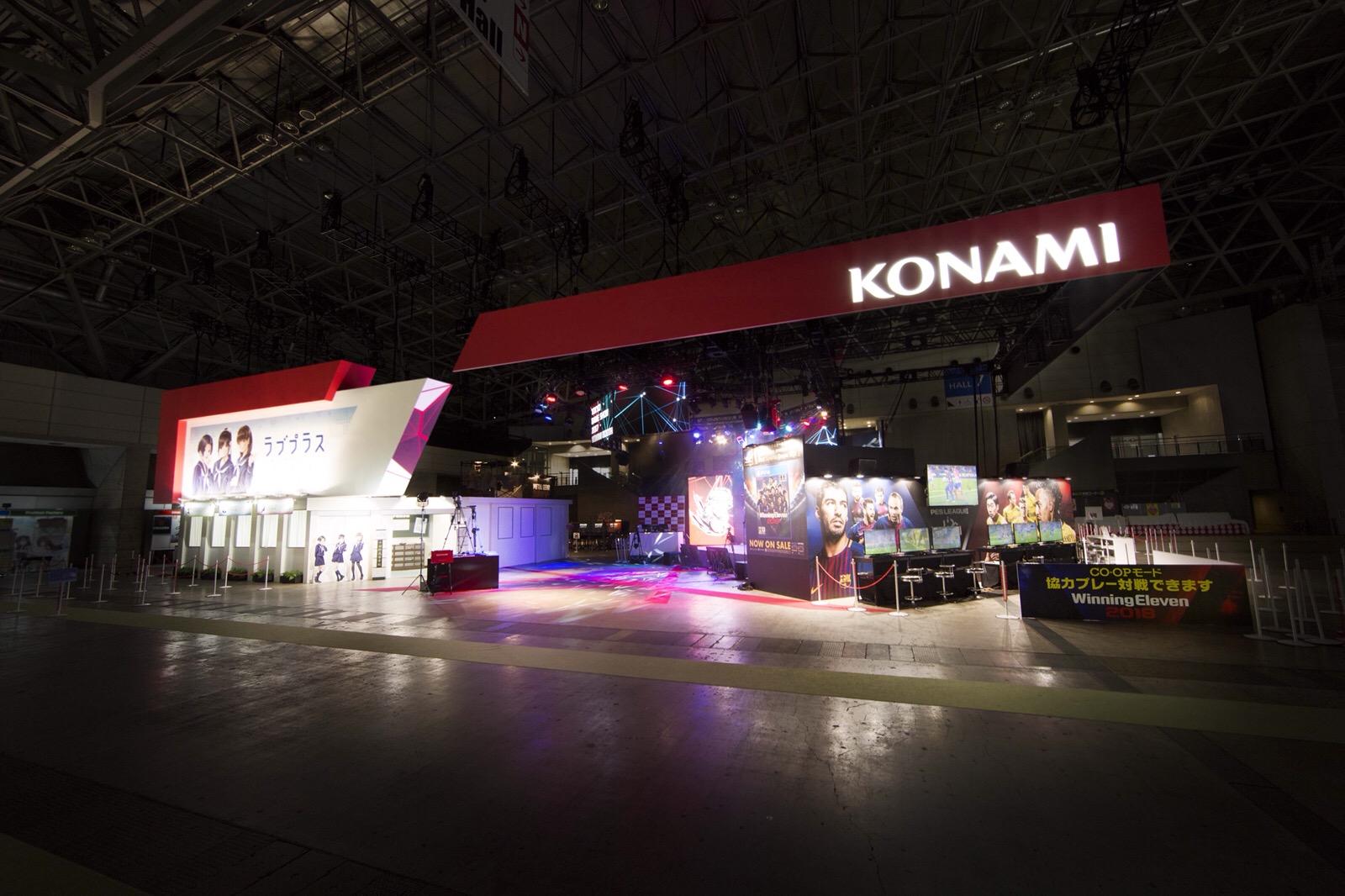 TOKYO GAME SHOW 2017 / KONAMIブース