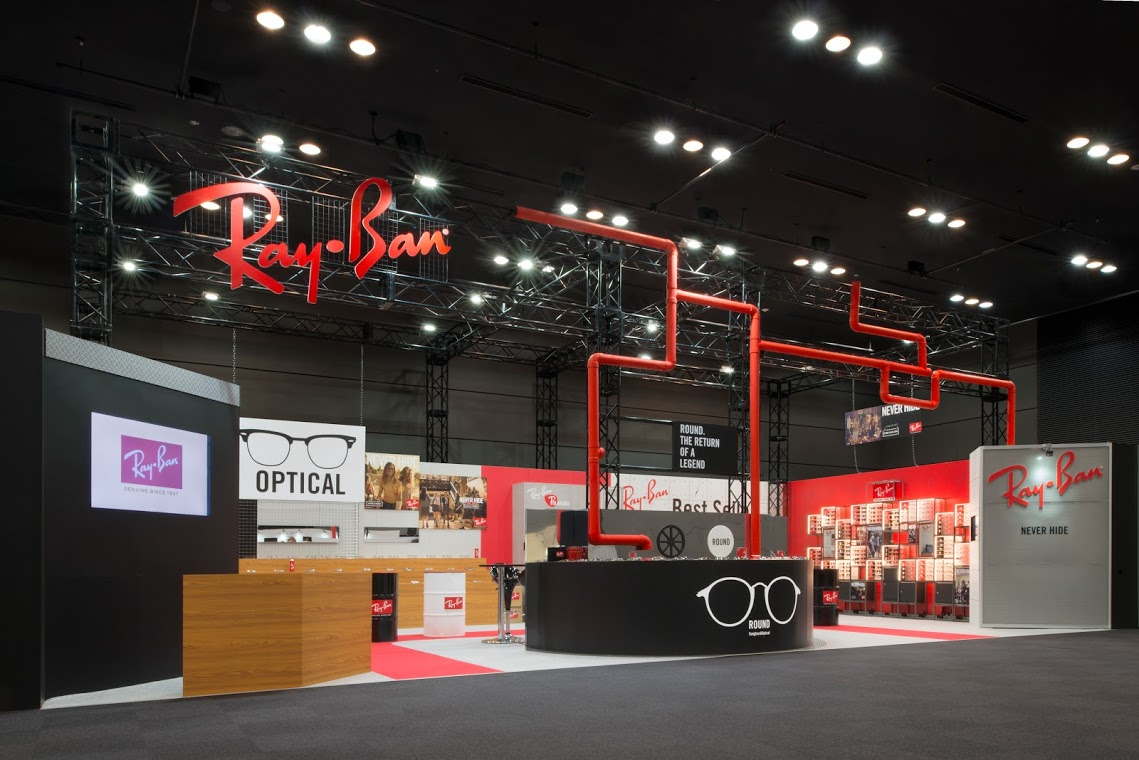 MIRALI JAPAN 2015.01 Collection / Ray-Ban booth
