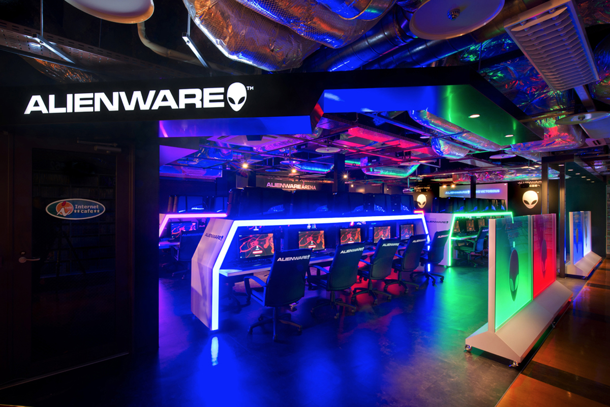 ALIENWARE ARENA in  i-cafe AKIBA PLACE