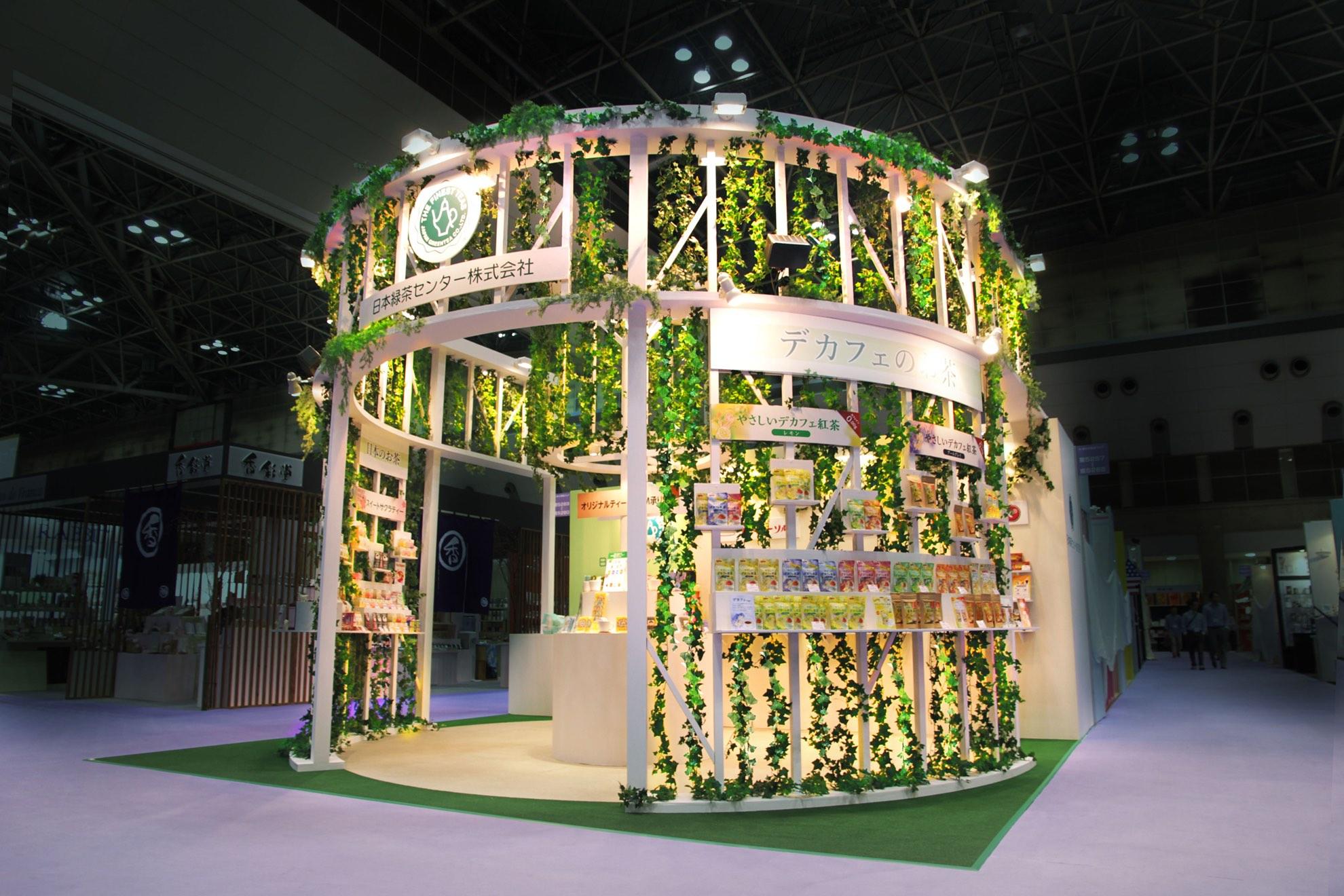 第80回 東京インターナショナル・ギフト・ショー秋2015 / 日本緑茶センターブース