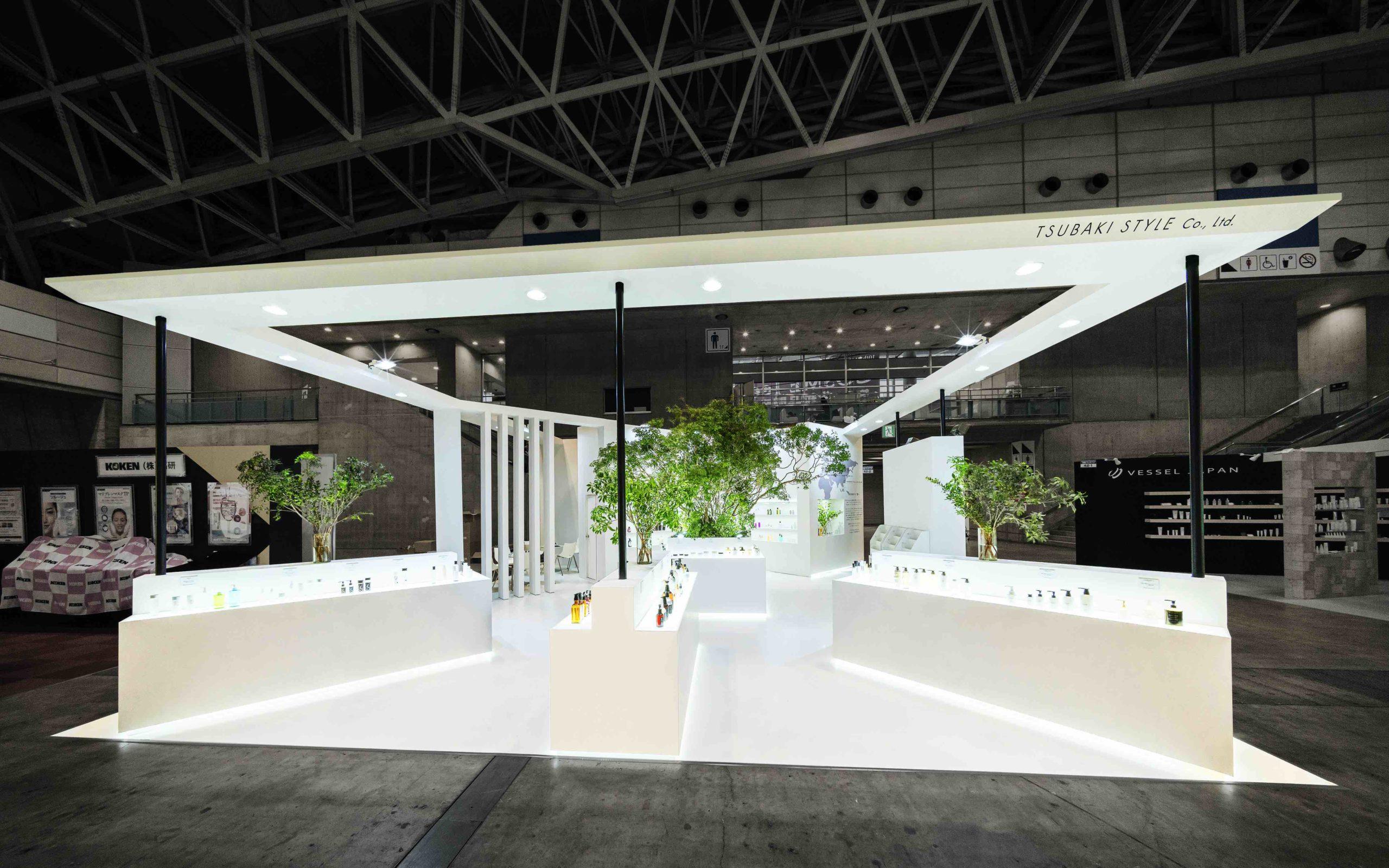 化粧品開発展2020 / ツバキスタイルブース